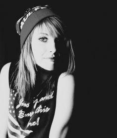 The beautiful Hayley Williams