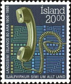 Sello: Telephone (Islandia) (Telephone) Mi:IS 659,Sn:IS 633,Yt:IS 612,AFA:IS 658
