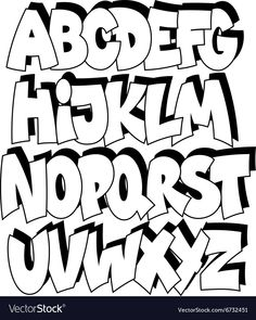 Graffiti Alphabet Stock Photos and Letters - Graffiti .- Graffiti Alphabet Stock Fotos und Buchstaben – Graffiti Schrift und Bilder Graffiti alphabet Stock Photos and letters – Graffiti font and pictures - Hand Lettering Tutorial, Hand Lettering Fonts, Doodle Lettering, Creative Lettering, Lettering Styles, Lettering Design, Doodle Fonts, Handwritten Fonts, Calligraphy Fonts
