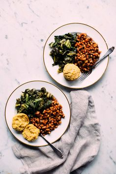 Collard Greens, Black Eyed Peas + Cornbread   Earthy Feast » Recipes   Bloglovin'