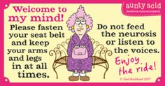 Aunty Acid for 2/2/2017