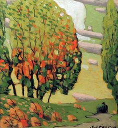 marc-aurèle fortin - StartPage by Ixquick Picture Search Landscape Paintings, Watercolor Paintings, Landscapes, Illustrations, Illustration Art, Bright Colors Art, New Fine Arts, Canadian Painters, Pastel Pencils