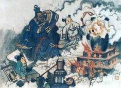 Ancient Chinese Gunpowder, Ancient China Invention of Gunpowder Great Inventions, Ancient China, Chinese Painting, Asian Art, Japan, Alfred Nobel, Culture, History, Historia