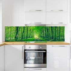 Fotomural naturaleza para cocina. Murales decorativos de pared. #viniloscocina #muralesenvinilo