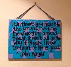 custom quote paintings