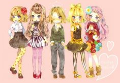 Princess Jellyfish - Kuranosuke's many looks
