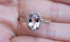 perfect morganite ring