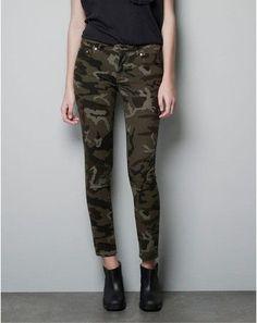 S-2XL Women Pencil Pants Fashion Camouflage Pants Casual Skinny Pantalon Femme Plus Size Pants Women