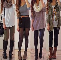 Which one do you like the best??!! #Fashion #tumblr #tumblrgirls #outfits