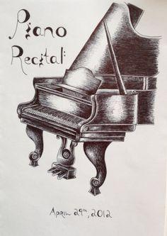 Piano Recital Program Cover
