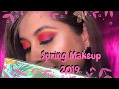 Spring Makeup 2019 | Matte colorful eye makeup | Chermel's World - YouTube