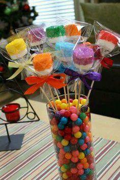 Bombones multicolor