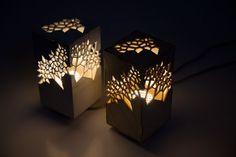Voronoi & Delaunay Table Light par Mariam Ayvazyan