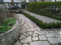stone walkways ideas - Google Search