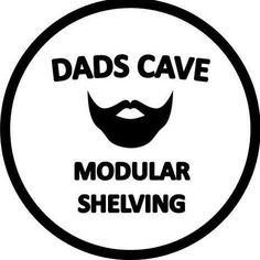 Free standing or wall mounted modular shelving units. Modular Shelving, Dads, Fathers