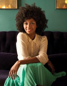 Beautiful Natural Hair Fro