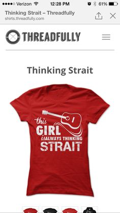 George Strait shirt.