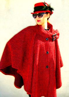 poncho coat by: Amalia Bellu
