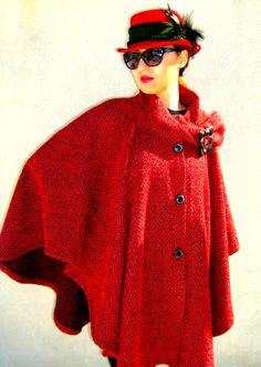 poncho coat by: Amalia Bellu