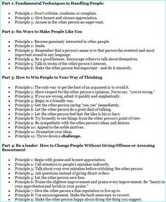 how to win friends and influence people principles - Google Search