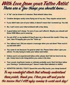 #rules #tattoo #studio13tattoomo  #sign #tattooartist #truth #love