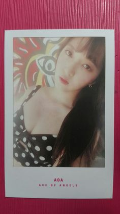 AOA CHANMI Official PHOTOCARD WEEKEND Ver. 4th Album GOOD LUCK Photo Card 찬미