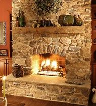 Artificial Stone Fireplace | Fortunately, manufacturers of roughly tex-