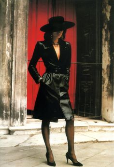 Paloma Picasso by Helmut Newton for Yves Saint Laurent