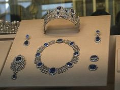 The Sapphires of Empress Eugenie Now, if you think Marie~Louise was a jewelry junkie, Empress Eugenie can put her to shame! The Louvre hous...