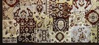 This #rug from Powell's Bombay Heritage Tapes Chenille Collection is hand-made in India from 100% #chenille. It will be featured in the Atlanta showroom Powell shares with Linon Home Décor Products. Featured in the June 24, 2013, Issue of Furniture Today.