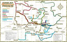 The Million Dollar Highway – Famous Last Words Durango Colorado, Colorado Hiking, Colorado Lakes, New Mexico Map, Famous Last Words, The Millions, Motorcycle Rides, Highway Map, Snow Board