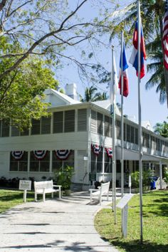 Little White House of Key West - Floride  www.maathiildee.com
