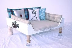 Vintage inspired dog beds