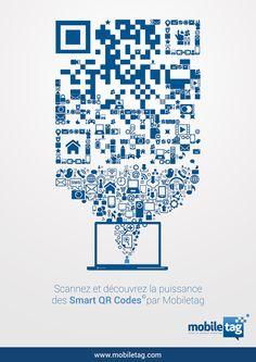Scannez ce code et découvrez la puissance des QR Codes Mobiletag ! Rendez-vous sur www.mobiletag.com
