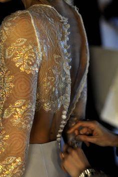 #wedding #dress #back #white #love #gorgeous #bridal