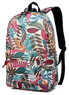 Backpack for Girls,Vaschy Stylish Roomy Casual Daypacks Book Bag Backpack  Rucksack Durable for Travel 5547e9f03b