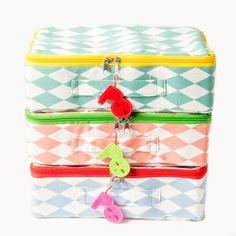 Valise Pakhuist oost arlequin grand modèle - My Little Bazar décoration pour chambre enfant