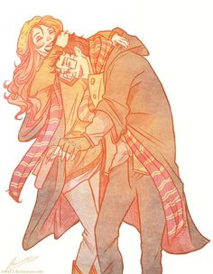 rejoice Lily and James by *viria13 on deviantART