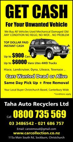 Cash for Junk Car Christchurch