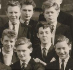 schoolboy Paul - can you spot the cutie?