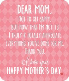 35 I Love You Mom Quotes - Part 18
