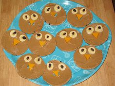 Primary Learning Logs: Owl Snacks