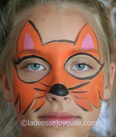 renard watermarked Maquillage Enfant Facile, Maquillage Masque, Maquillage  Filles, Maquillage Halloween Enfant,