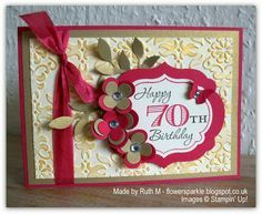 70th Birthday Cards To Make: 70th Birthday Card on Pinterest   70th Birthday Gifts  50th,Coloring