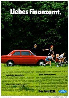 Original-Werbung/ Anzeige 1969 - FORD 12M - ca. 180 x 240 mm