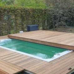 Pool Spa, Small Swimming Pools, Diy Pool, Small Pools, Swimming Pools Backyard, Swimming Pool Designs, Pool Landscaping, Homemade Swimming Pools, Swiming Pool