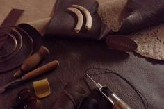 Leather work Leather Working, Projects, Log Projects, Blue Prints, Leather Crafting