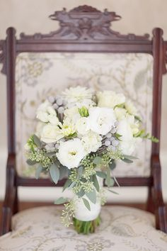 B&D's wedding. gorgeous  bride bouquet!  Thank you In Bloom!