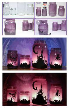 DIY Enchanting Halloween Lanterns