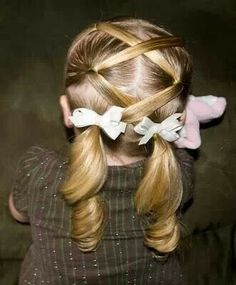 Good hairstyle for little girls